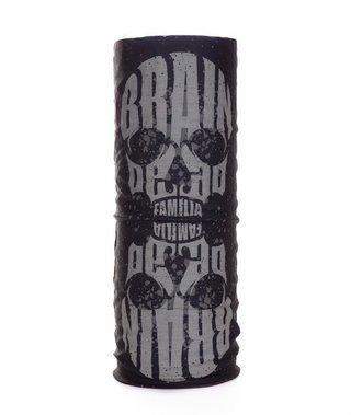 Bandana Brain Dead Familia Skull Black-Grey
