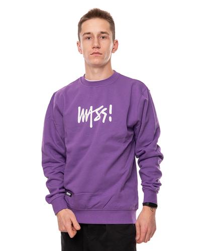 Bluza Mass Signature Medium Logo Violet