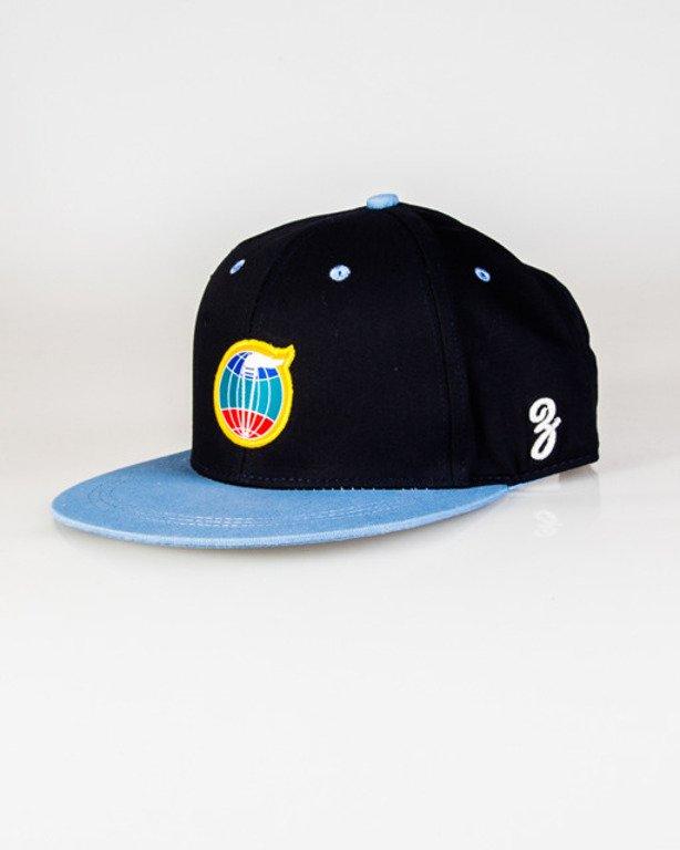 Czapka True Spin Snapback Circle Colors Navy-Blue
