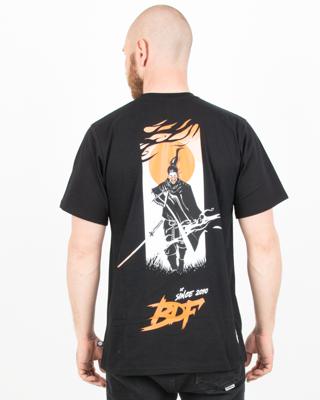 Koszulka Brain Dead Familia Samurai Black