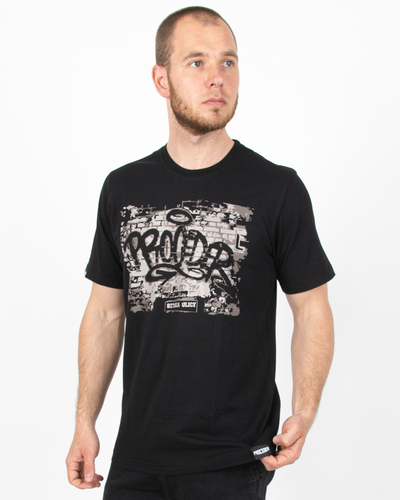 Koszulka Chada Wall Black