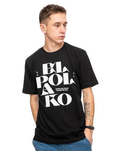 Koszulka El Polako Letters Black