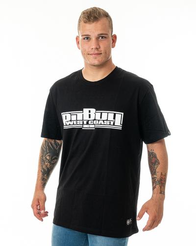 Koszulka Pit Bull Classic Boxing Czarna