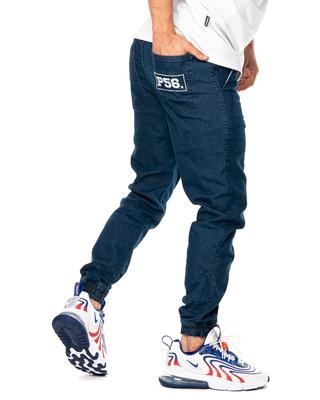 Spodnie Jeans Jogger Dudek P56 Ciemnoniebieskie