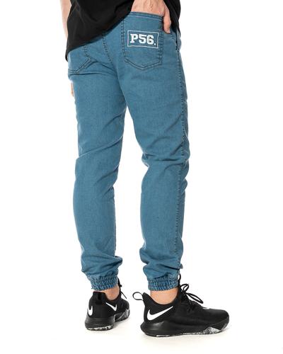 Spodnie Jeans Jogger Dudek P56 Niebieskie