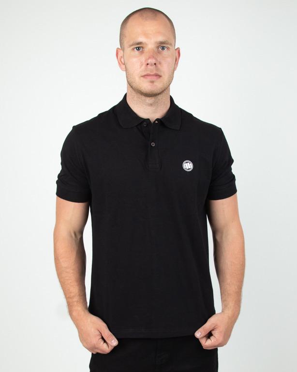 Koszulka Pitbull Polo Circle Logo Black