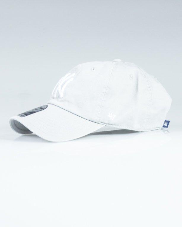 47 BRAND CAP MLB NEW YORK YANKEES CLEAN UP MELANGE