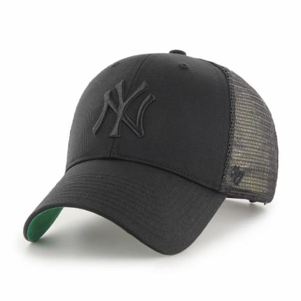 47 BRAND CAP TRUCKER NY YANKEES BLACK-BLACK