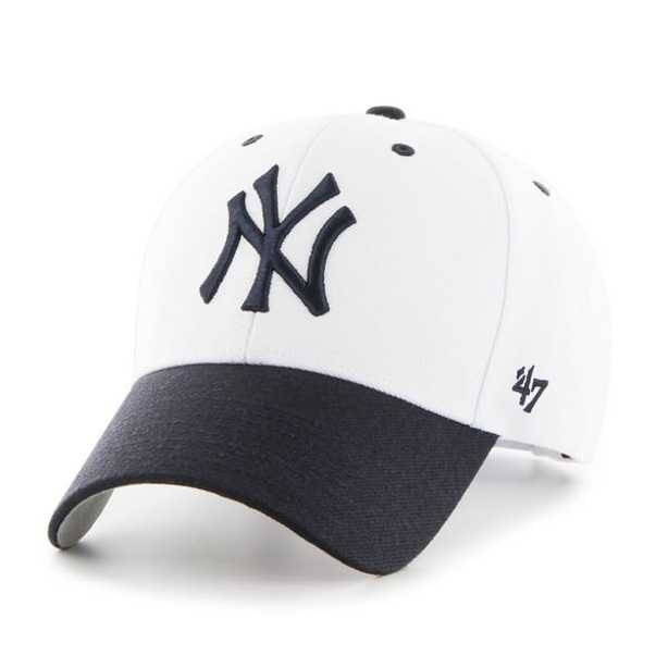47 BRAND SNAPBACK MLB NY YANKEES WHITE-NAVY