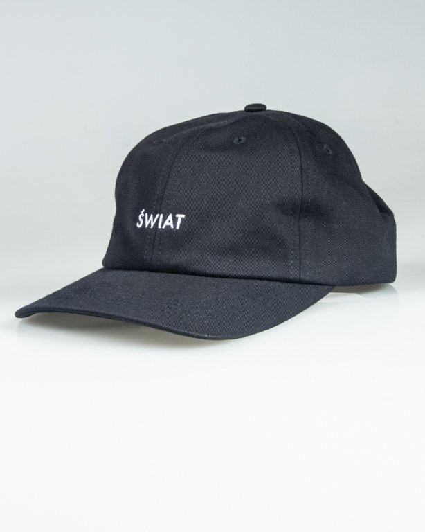ALKOPOLIGAMIA CAP 5PANEL ŚWIAT BLACK