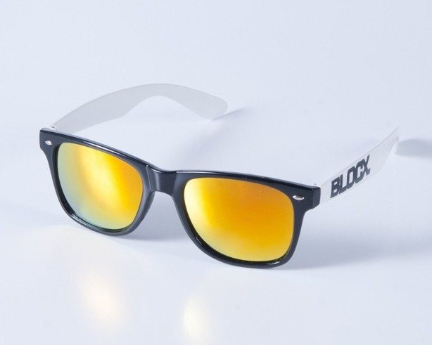 BLOCX OKULARY CLASSIC BLACK-WHITE COL