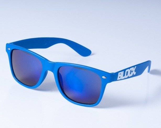 BLOCX OKULARY MAT NAVY BLUE COL