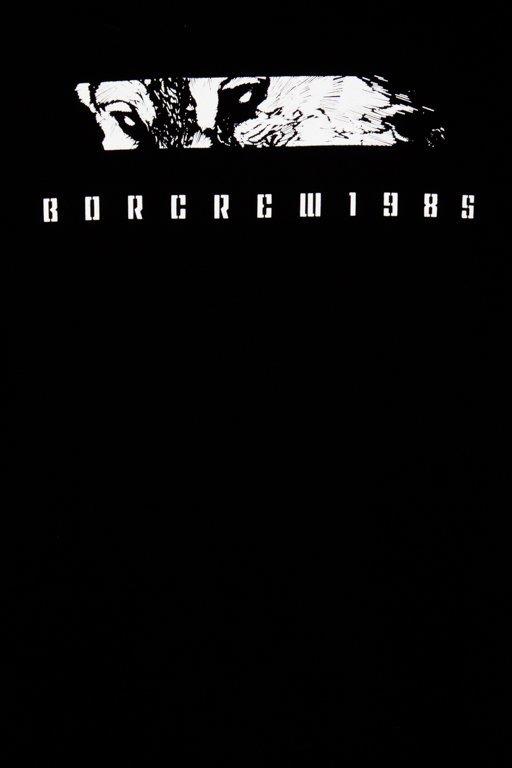 BOR CREWNECK WILK BLACK