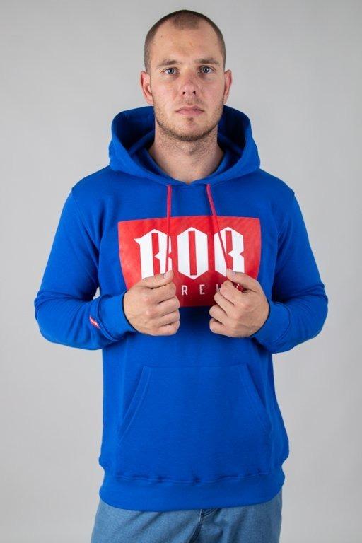 BOR HOODE BORNEW BLUE