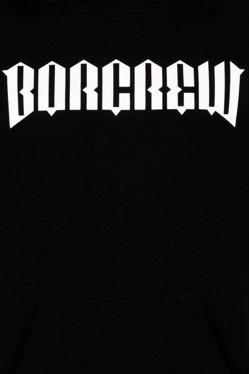 BOR HOODIE NEW BORCREW BLACK