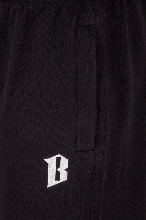 BOR SWEATSHORTS CLASSIC BORCREW BLACK