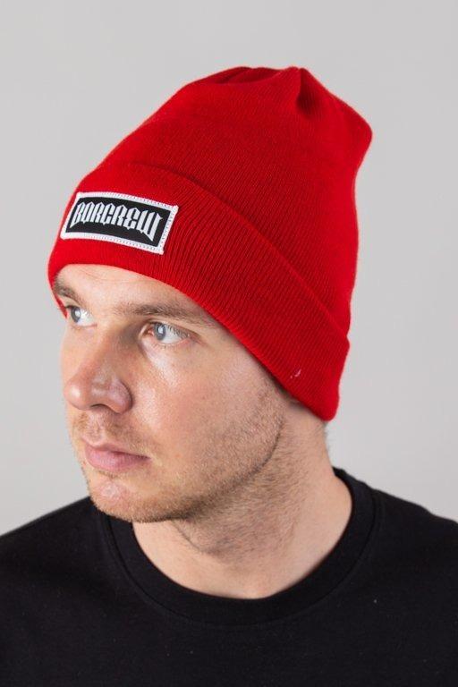 BOR WINTER CAP BORCREW RED