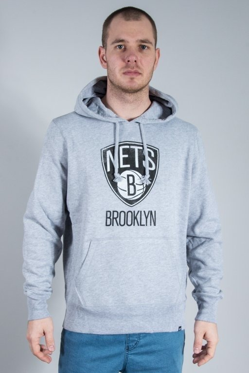 Bluza 47 Brand Hoodie Brooklyn Nets Melange
