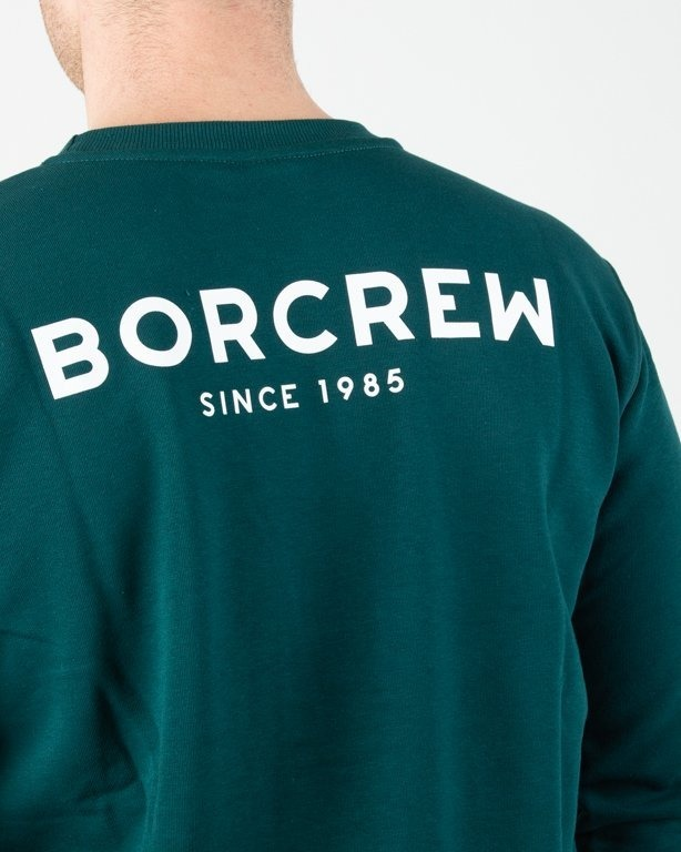 Bluza Bor Classic Borcrew Green