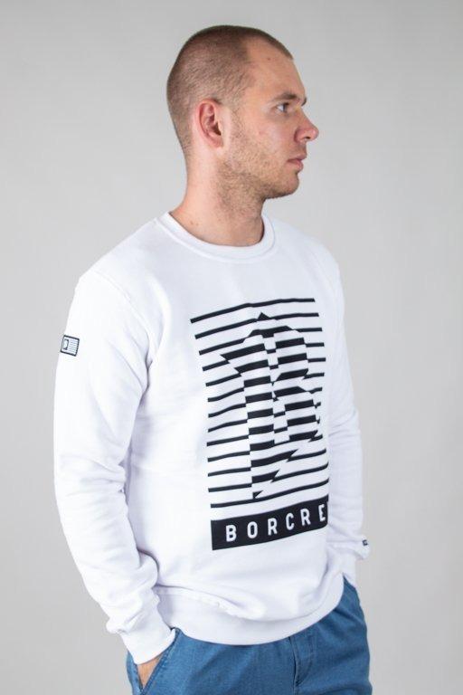 Bluza Bor Lines White