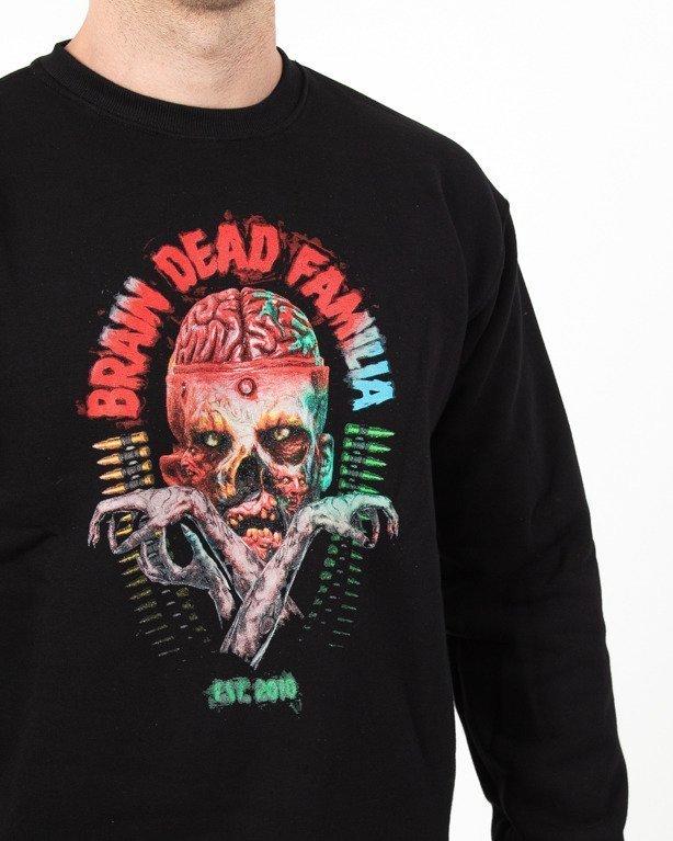 Bluza Brain Dead Familia Bullets Black