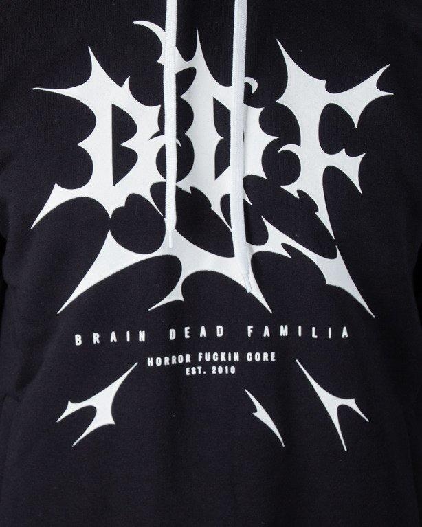 Bluza Brain Dead Familia Hoodie Thunder Black