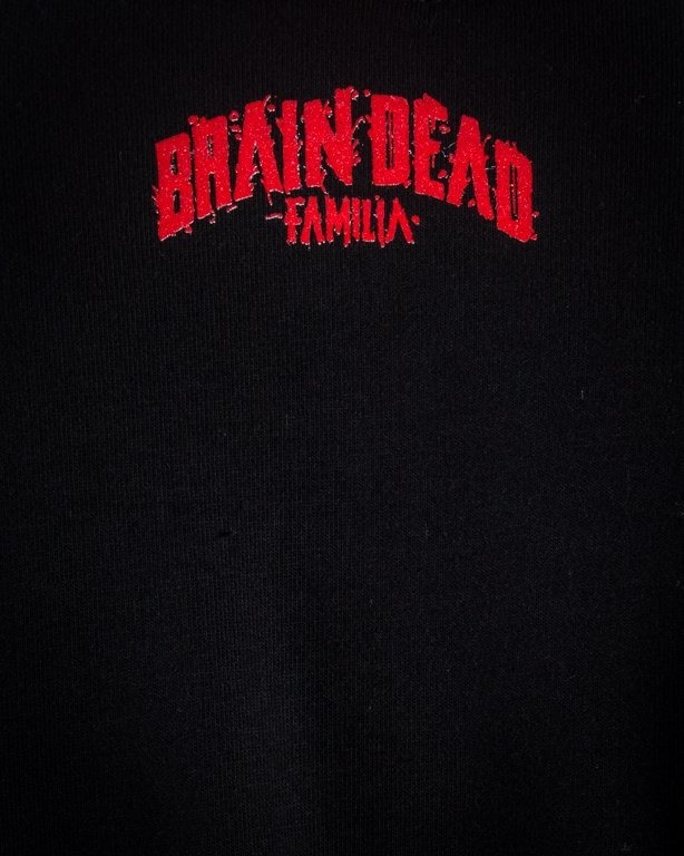 Bluza Brain Dead Familia Spray Black