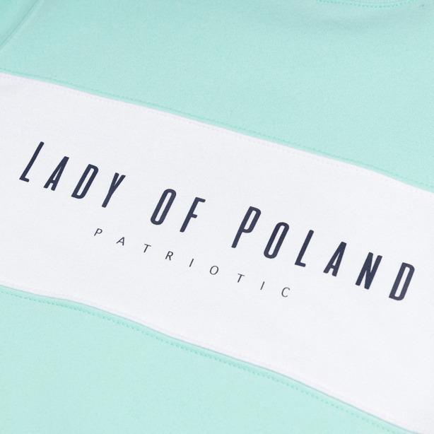 Bluza Damska Patriotic Lady of Poland Mint
