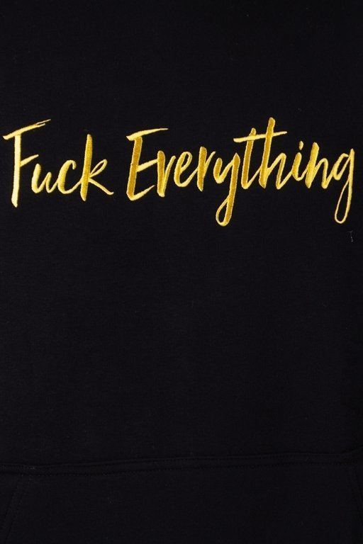 Bluza Diamante Wear Hoodie Fuck Everything Black