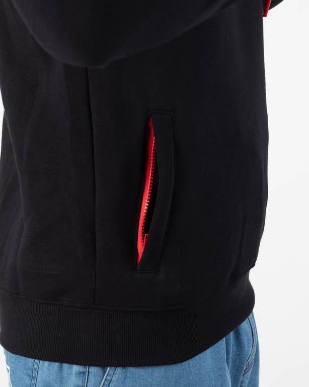 Bluza Dudek P56 Hoodie Tętno Black