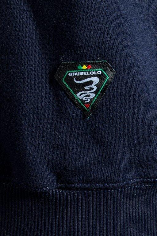 Bluza Grube Lolo Logo Full Ganja Navy