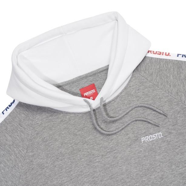 Bluza Hoodie Damska Prosto Tapie Grey