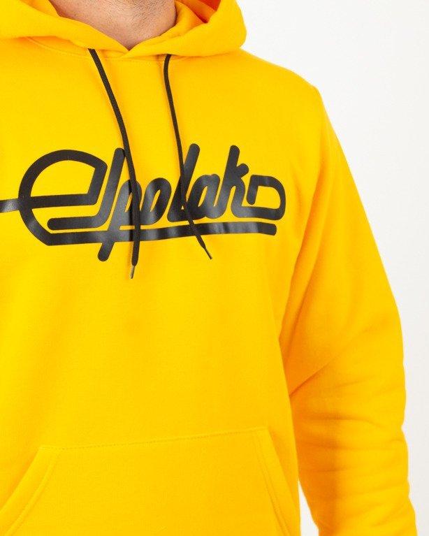 Bluza Hoodie El Polako SSP Yellow