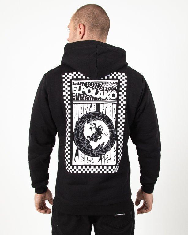 Bluza Hoodie El Polako Wordwilde Black