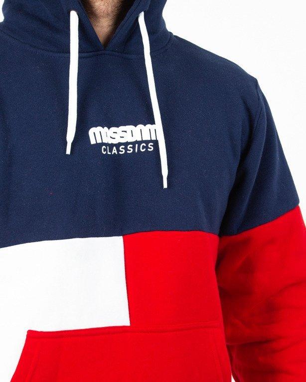Bluza Hoodie Mass Capital Navy