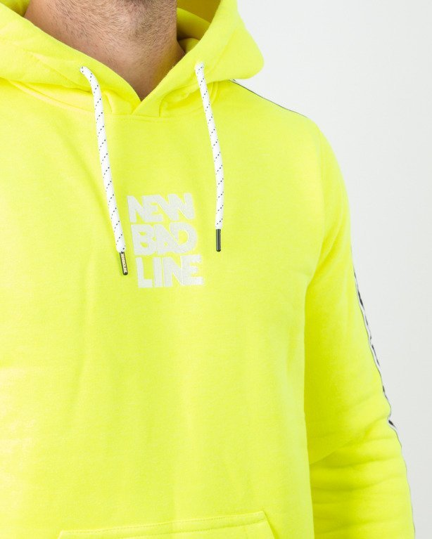 Bluza Hoodie New Bad Line Classic Lampas Neon