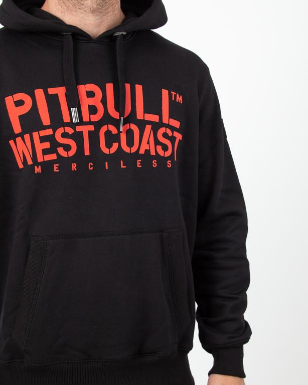 Bluza Hoodie Pitbull Merciless Black