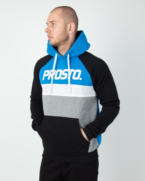 Bluza Hoodie Prosto Should Blue