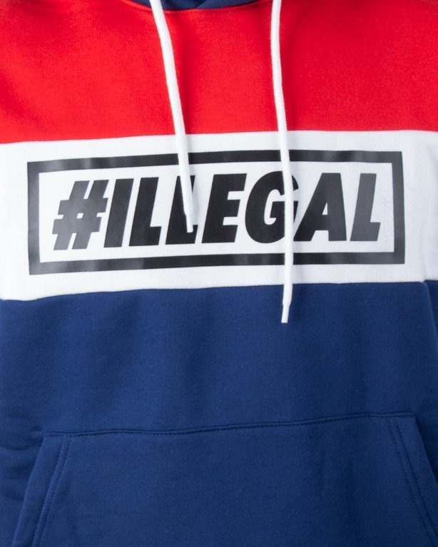 Bluza Illegal Hoodie 3 Colors Navy