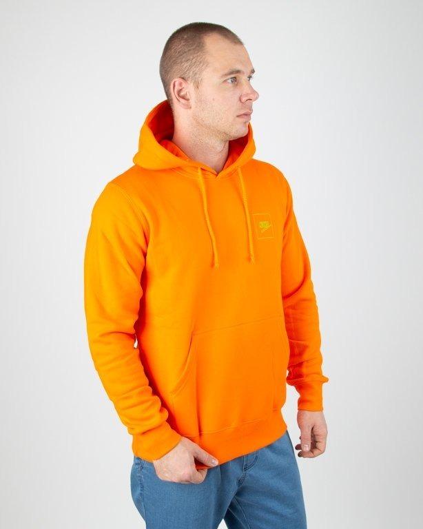 Bluza Koka Hoodie Fake Ball Orange