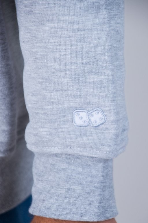 Bluza Lucky Dice 3panels White-Brick