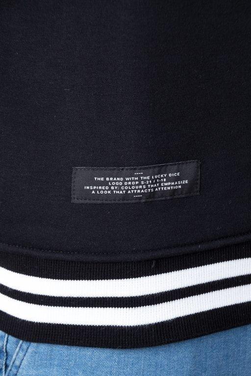 Bluza Lucky Dice Logo Colour Black-Grey