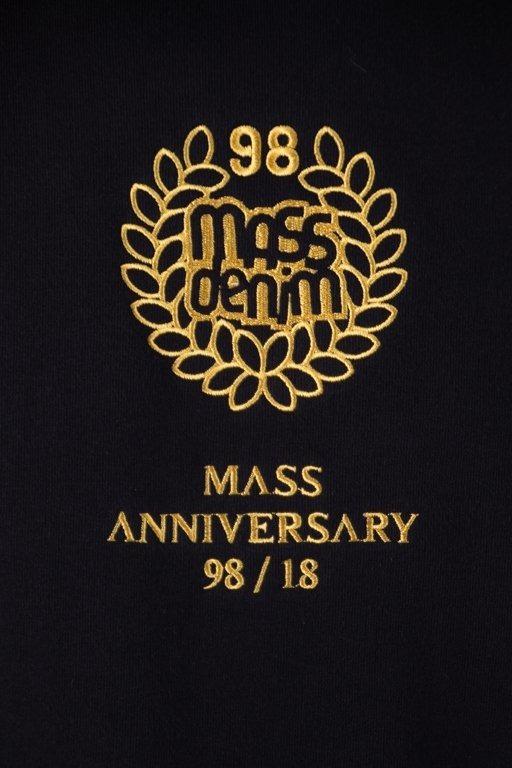 Bluza Mass Hoodie Golden Crown Black