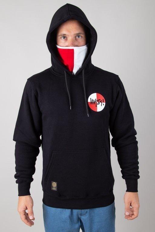 Bluza Mass Hoodie Signature Flag Black