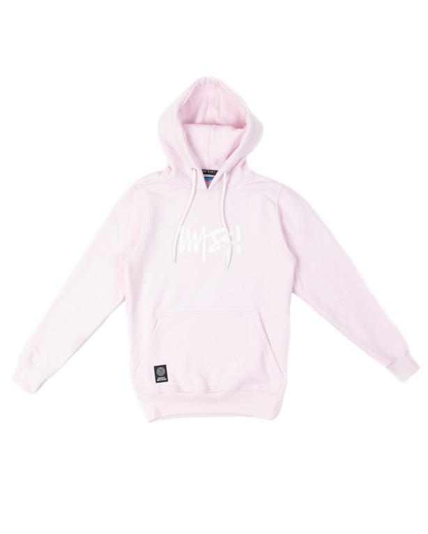 Bluza Mass Hoodie Woman Signature Medium Logo Pink