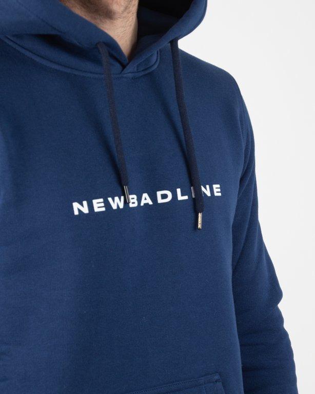 Bluza New Bad Line Hoodie Circle Navy