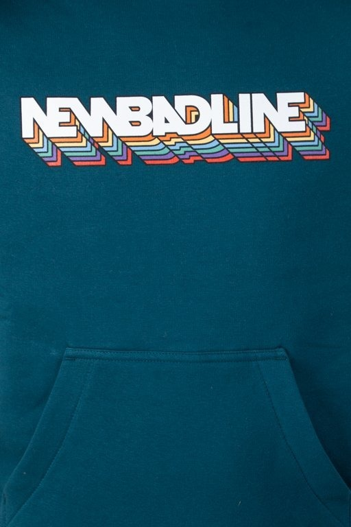 Bluza New Bad Line Hoodie Color Emerald