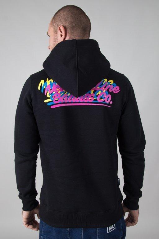 Bluza New Bad Line Hoodie Colorlogos Black