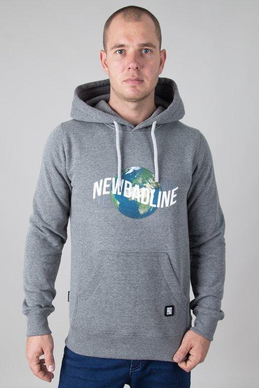 Bluza New Bad Line Hoodie Earth Melange