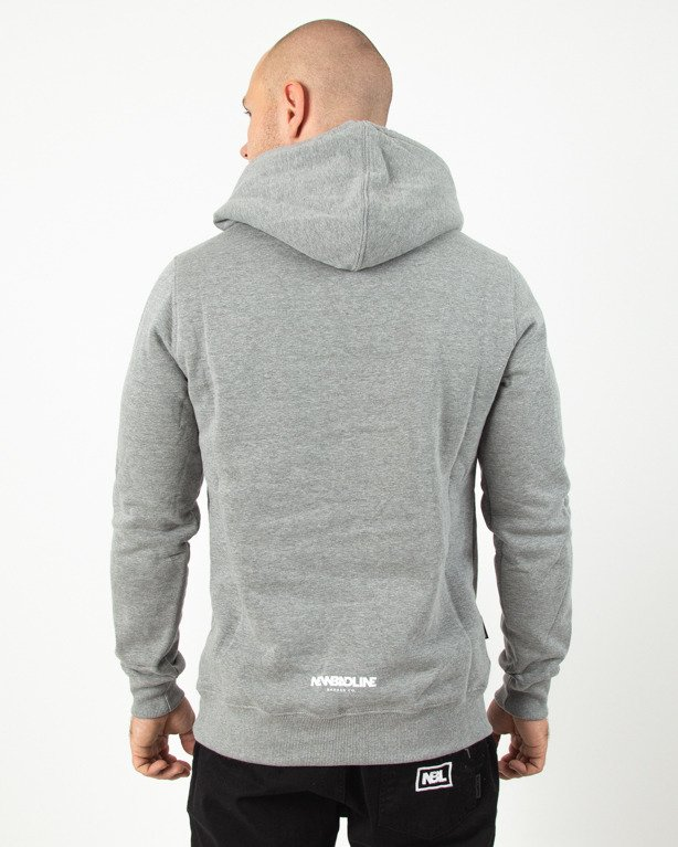 Bluza New Bad Line Hoodie Icon Grey